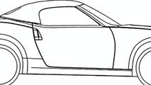 Nissan 370Z Roadster Design Sketch