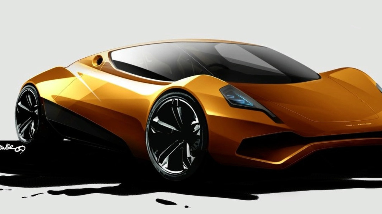 JJAD P1-E all electric sports car