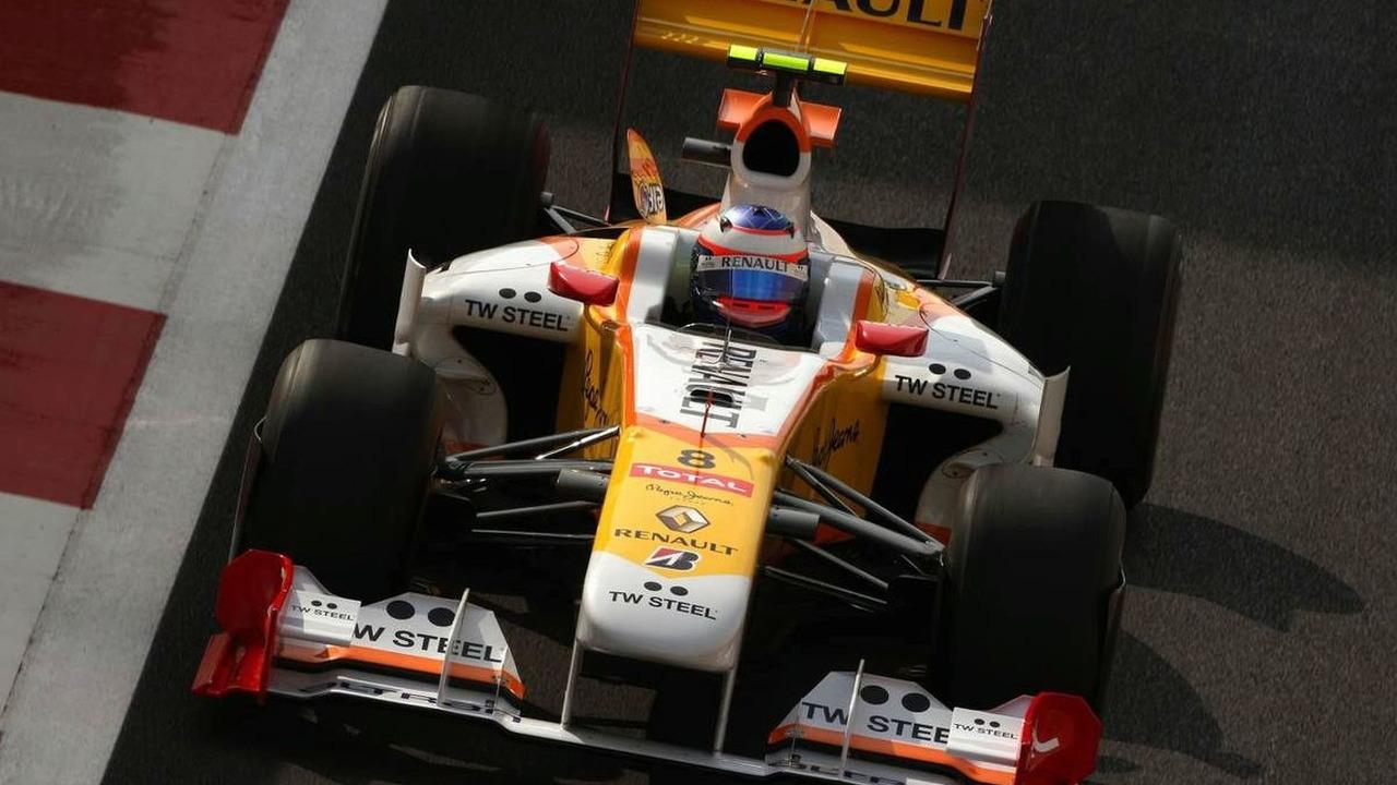 Romain Grosjean (FRA), Renault F1 Team, Abu Dhabi Grand Prix, Friday Practice, 30.10.2009 Abu Dhabi, United Arab Emirates