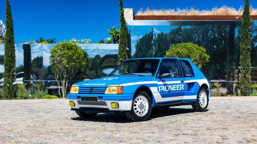 Cette Peugeot 205 T16 s'est vendue à 274 000 euros