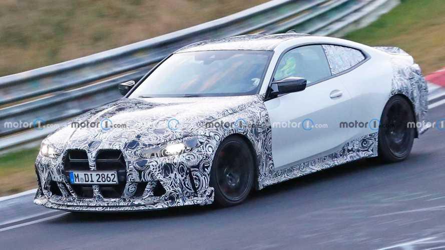 BMW M4 CSL Spied In Detail During Nurburgring Testing
