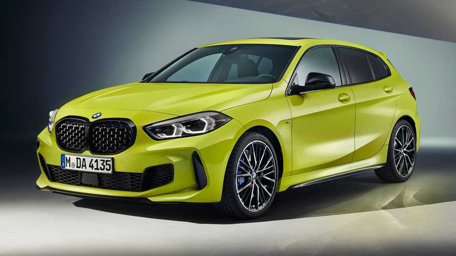 2022 BMW M135i xDrive Revealed With Mechanical Upgrades, Fancy Paint