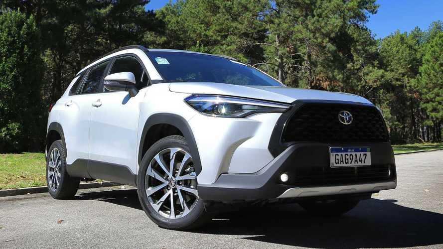 Toyota paralisa temporariamente produção de Corolla Cross e Yaris
