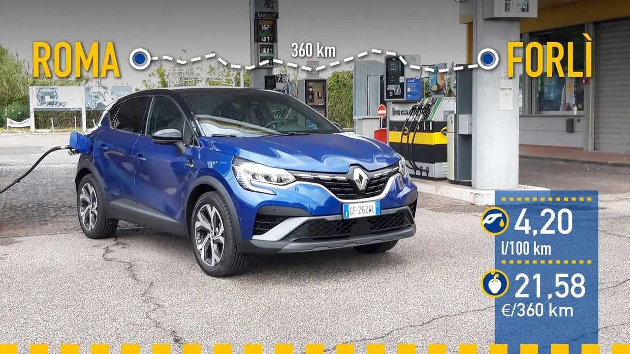 Prueba consumo Renault Captur E-TECH Híbrido