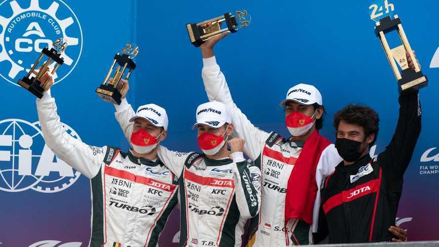 Sejarah, Sean Gelael Naik Podium di Balapan 24 Hours of Le Mans