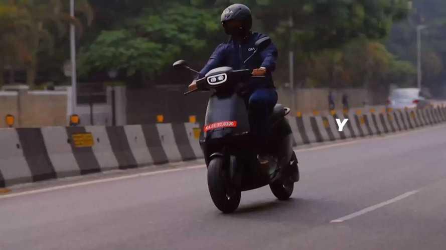 Ola Electric aus Indien präsentiert günstigen Elektroroller S1