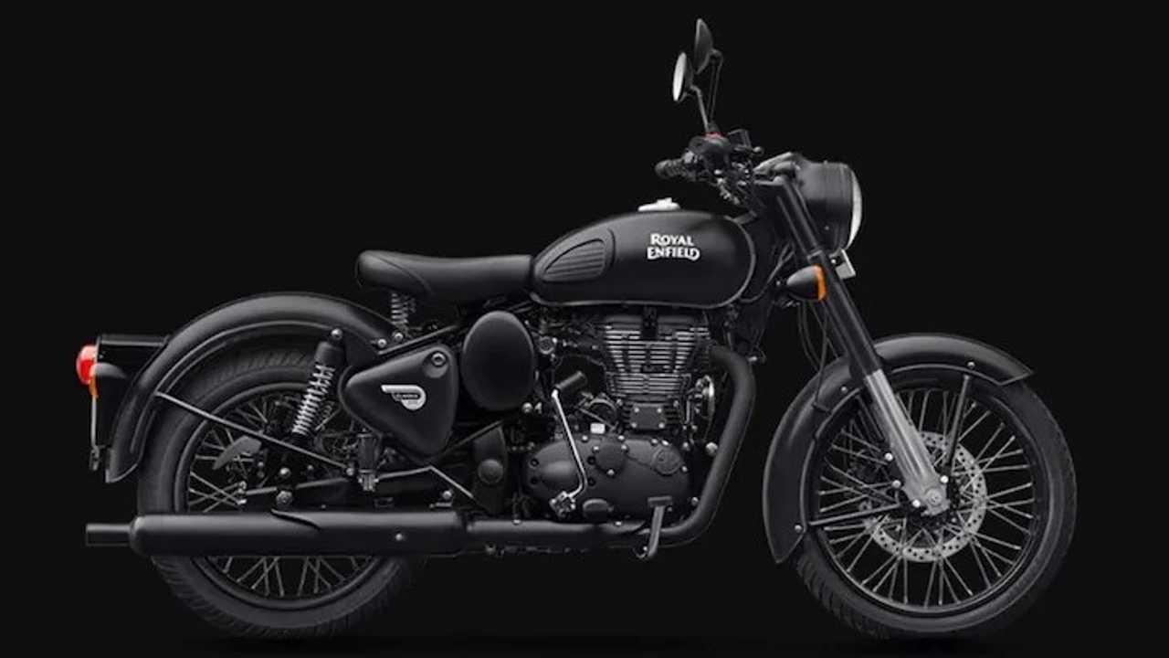 Royal Enfield Classic 350 - Black