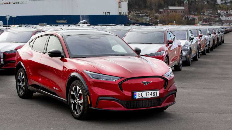 Italy's Plug-In Sales Near 10% In August: Mustang Mach-E Arrives