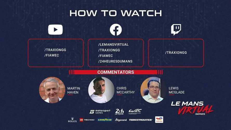 Veja qualis e corridas da Le Mans Virtual Series ao vivo