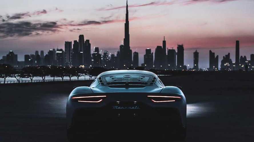 Expo 2020 Dubai, Maserati rappresenta il Made in Italy