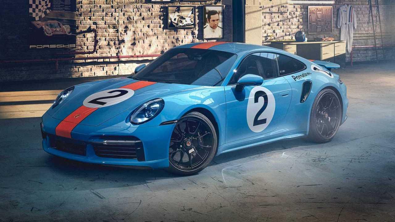 Porsche 911 Turbo S in honor of Mexican driver Pedro Rodríguez