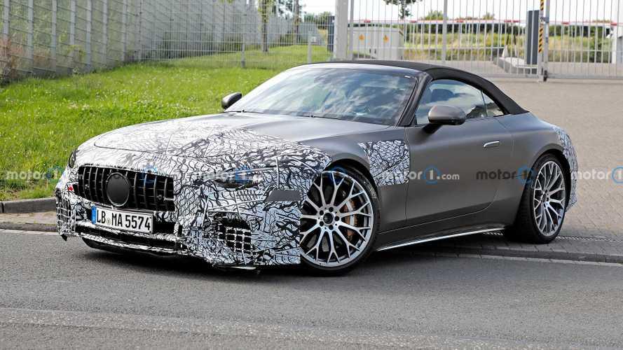 Mercedes-AMG SL, nuove foto spia in attesa del lancio