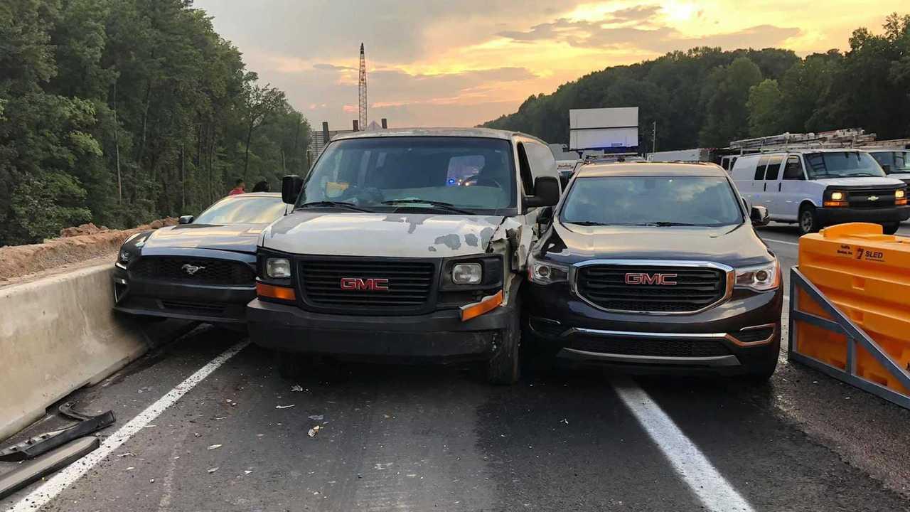 Georgia Highway Exit Crash
