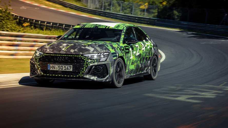Audi RS3 crava recorde em Nürburgring para esportivos compactos
