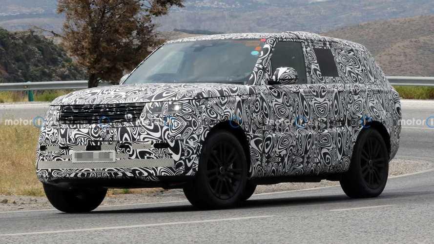 Nuova Range Rover, video e foto spia della ibrida plug-in