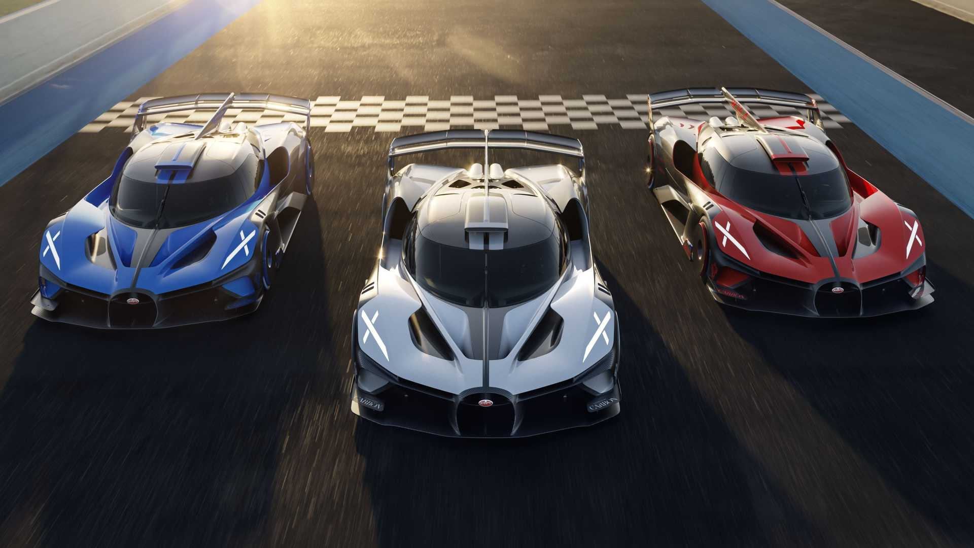 Bugatti Bolide versión de producción