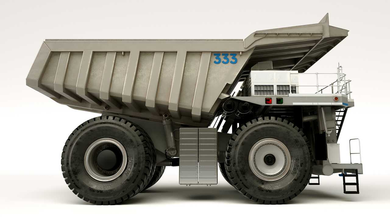 Rolls-Royce pamerkan konsep truk tambang hybrid