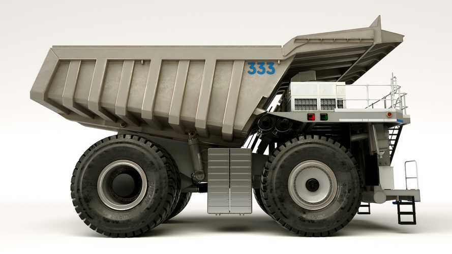 Roll-Royce Haul Truck Concept Previews Greener Mining Future