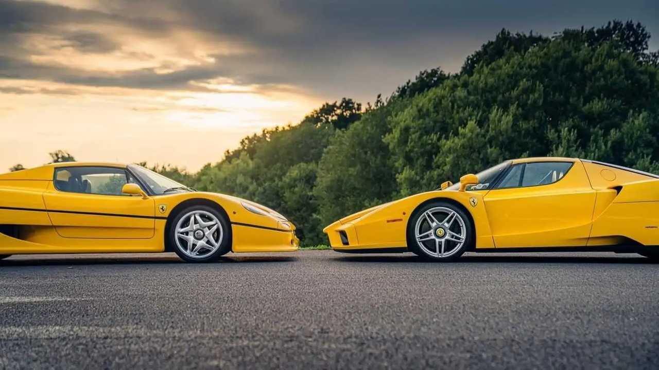 Ferrari Enzo Ferrari F50 gialle vendita