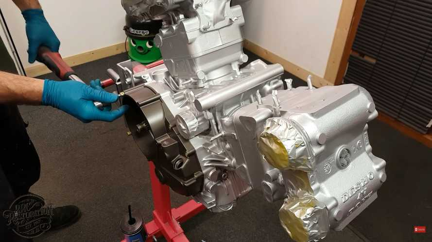 Watch A Guy Give A Ducati 916 Engine The TLC It Deserves