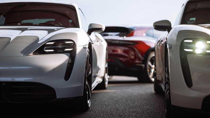 В 2021 году Taycan стал популярнее Porsche 911 и Panamera