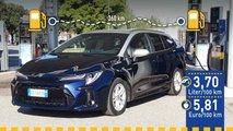 Tatsächlicher Verbrauch: Suzuki Swace 1.8 Hybrid im Test