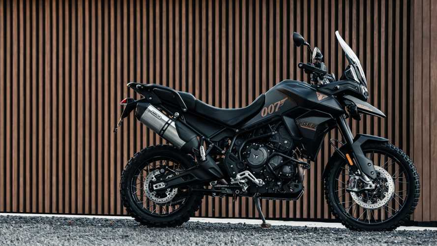 Triumph Tiger 900 Bond Edition Breaks Cover With Stealthy Livery