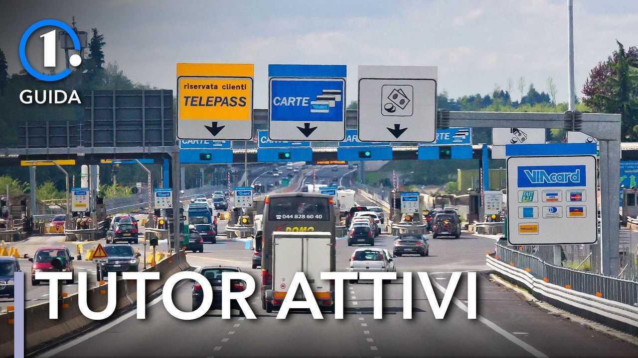 Tutor in autostrada, tutti quelli attivi nell'estate 2021