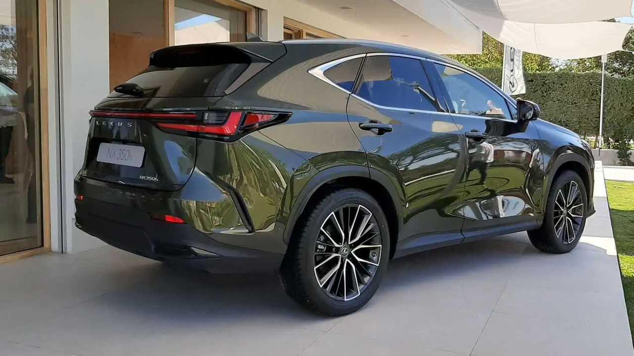 Lexus NX 2021: precios y gama