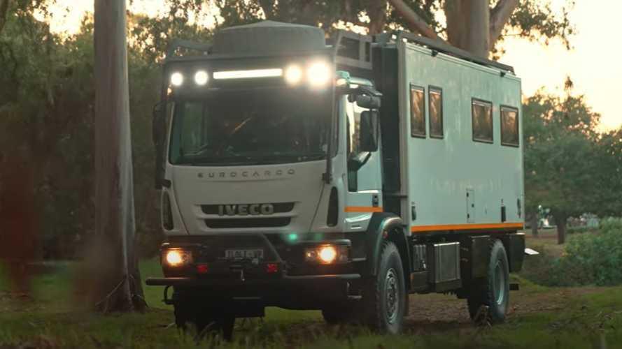 Iveco Overlander, le camping car pour aller au bout du monde