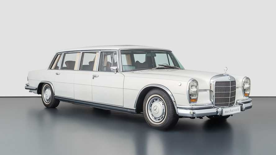 836 milliót ér ez a felújított Mercedes Pullman limuzin