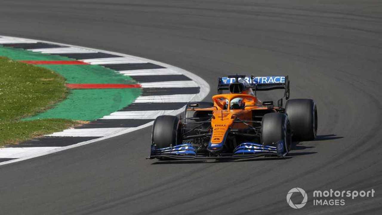 Daniel Ricciardo at British GP 2021