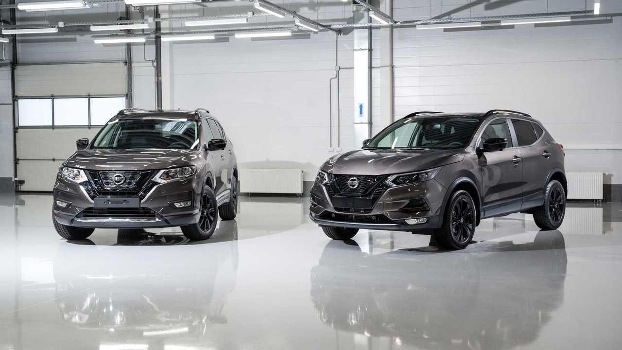 Nissan Qashqai и X-Trail N-Design