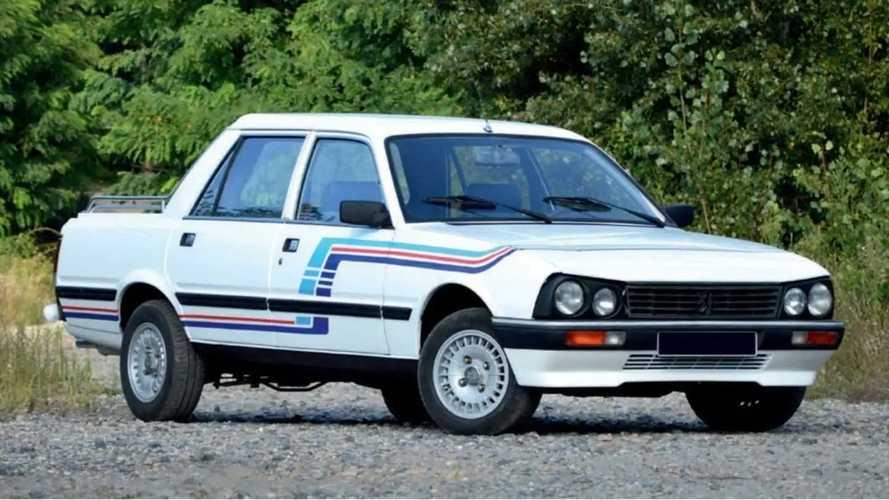 A subasta este rarísimo Peugeot 505 pick-up de Gruau