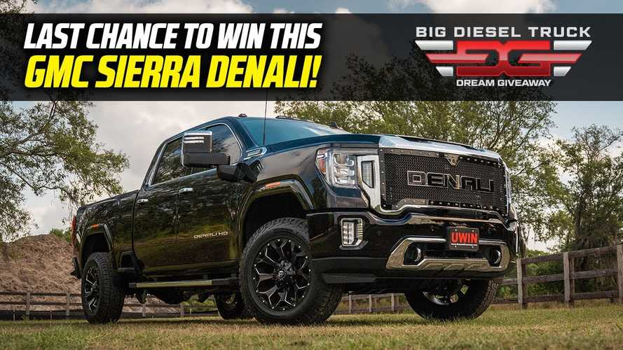 Final Call: Enter Now To Win This Big Diesel Truck Plus $20,000