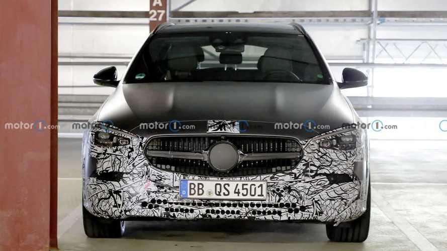 2022 Mercedes C-Class All-Terrain new spy photos