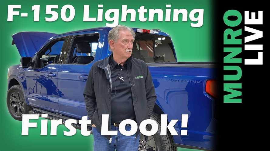Sandy Munro Is Impressed By The Ford F-150 Lightning