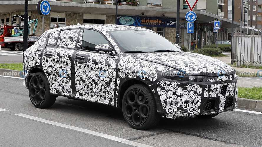 Alfa Romeo Tonale (2022): Prototyp zeigt neue Details