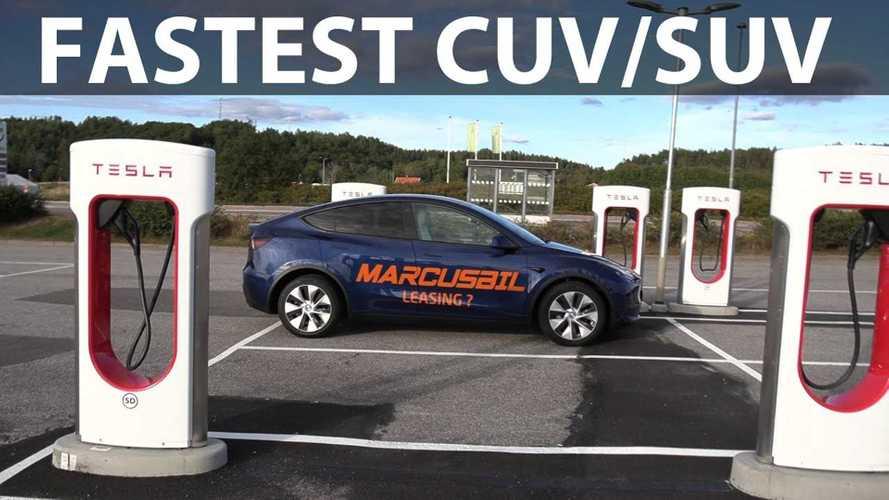 MIC Tesla Model Y: Fastest CUV/SUV In Bjørn's 1,000 Km Challenge
