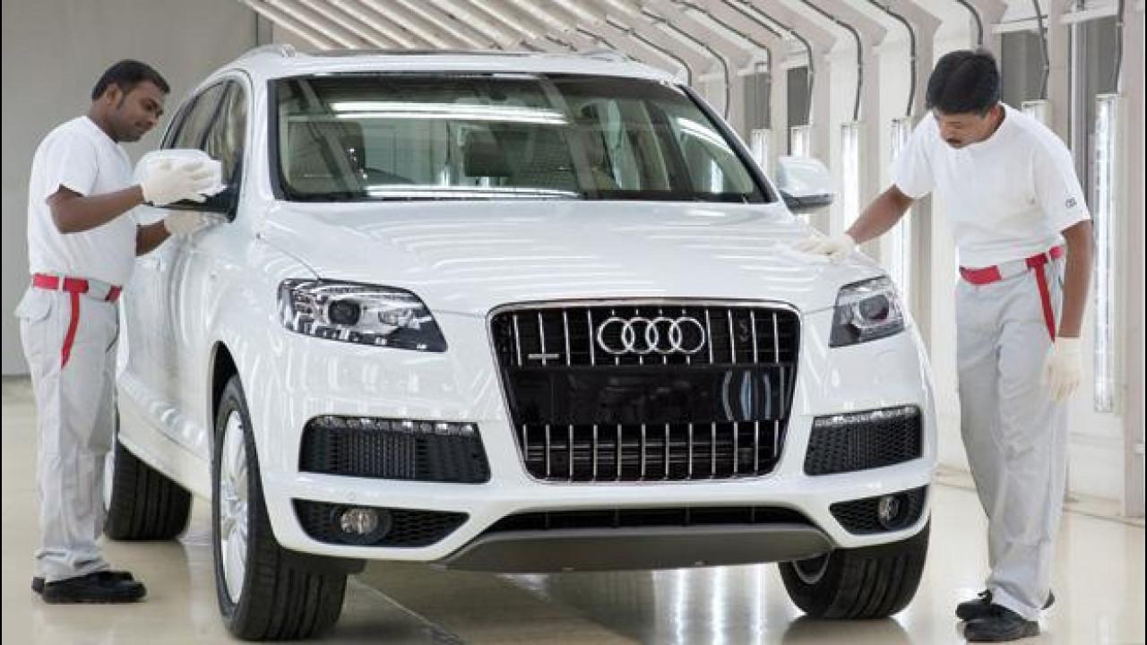[Copertina] - Audi Q7: al via la produzione in India