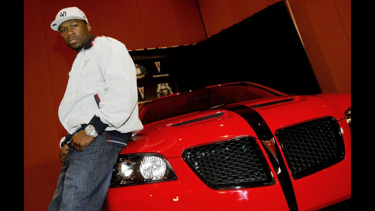Pontiac G8 elaborata da 50 Cent e Will Castro
