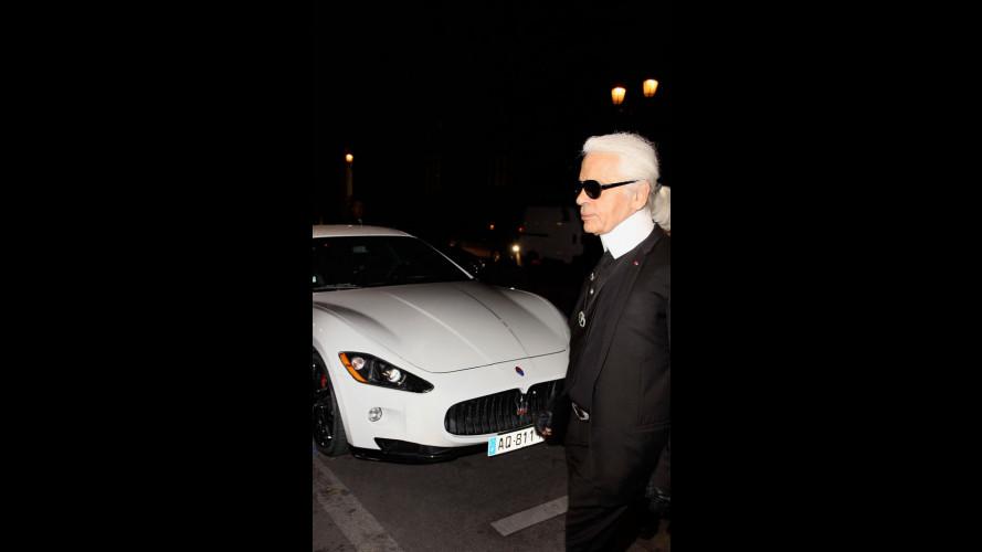 """Le Maserati a Cannes """"vestono"""" Fendi"""