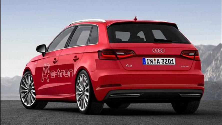 Audi A3 Sportback e-tron, prezzo sotto i 40mila euro
