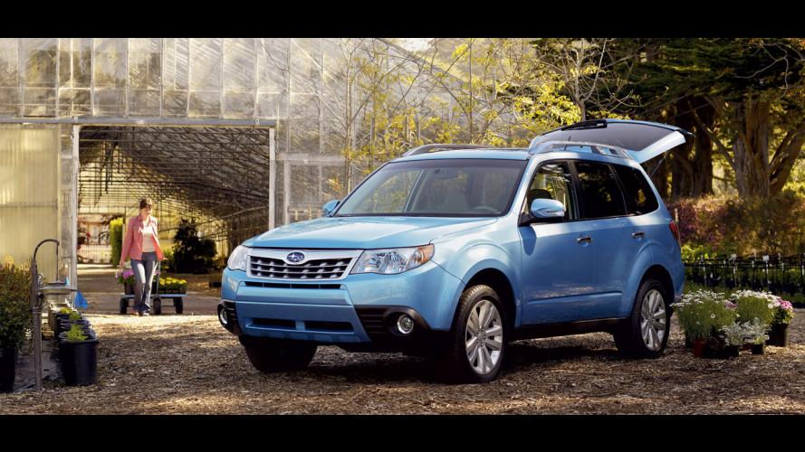 """La Subaru Forester si """"arruola"""""""