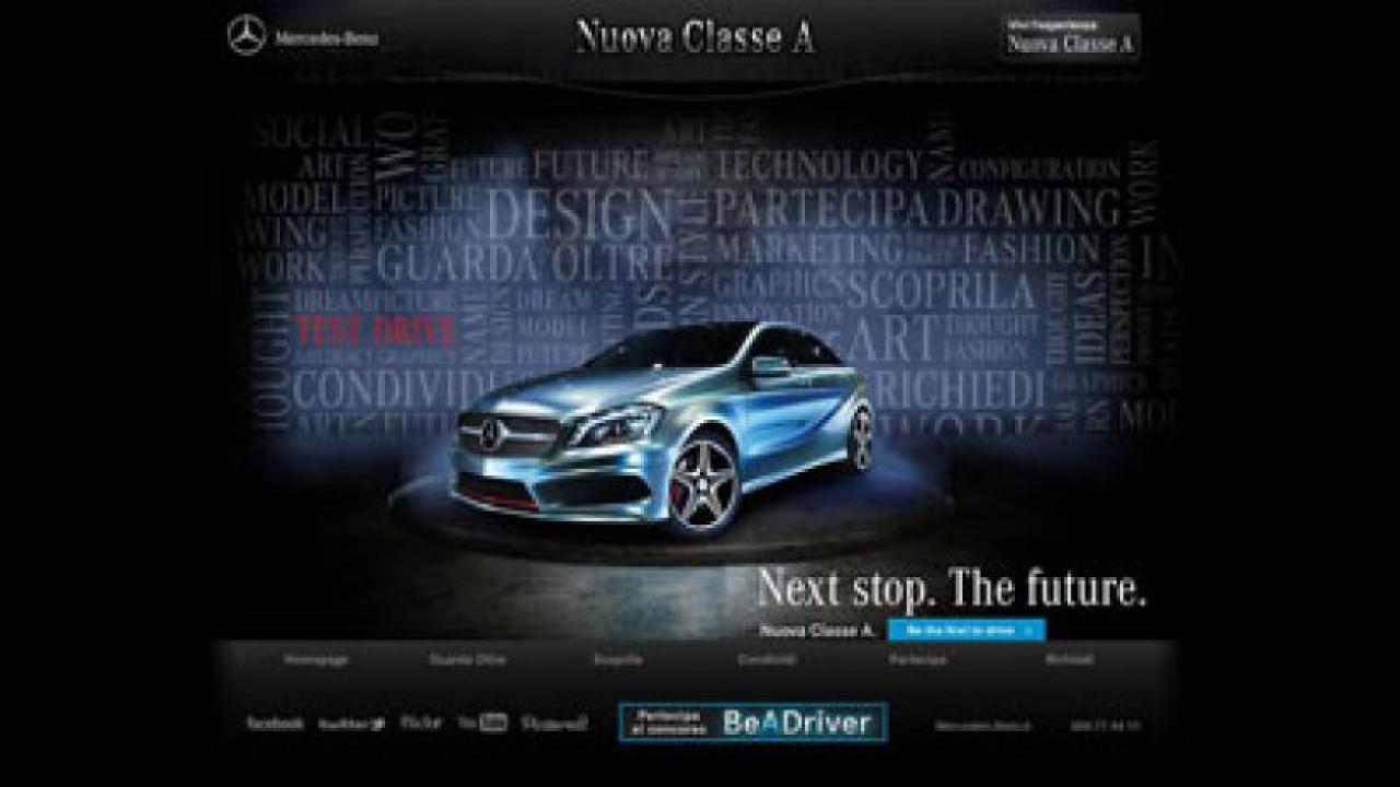 [Copertina] - Mercedes Classe A promossa con il concorso BeADriver
