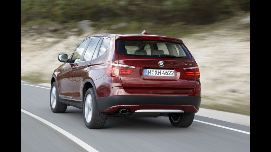 Nuova BMW X3: i prezzi