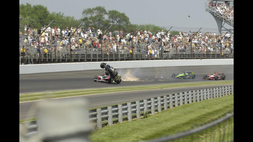 L'incidente di Mike Conway alla Indy 500 2010