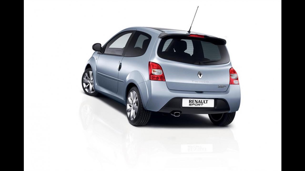 Renault Twingo R150.R, solo per l'Olanda