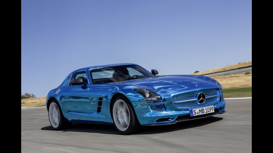 Mercedes SLS AMG Coupé Electric Drive