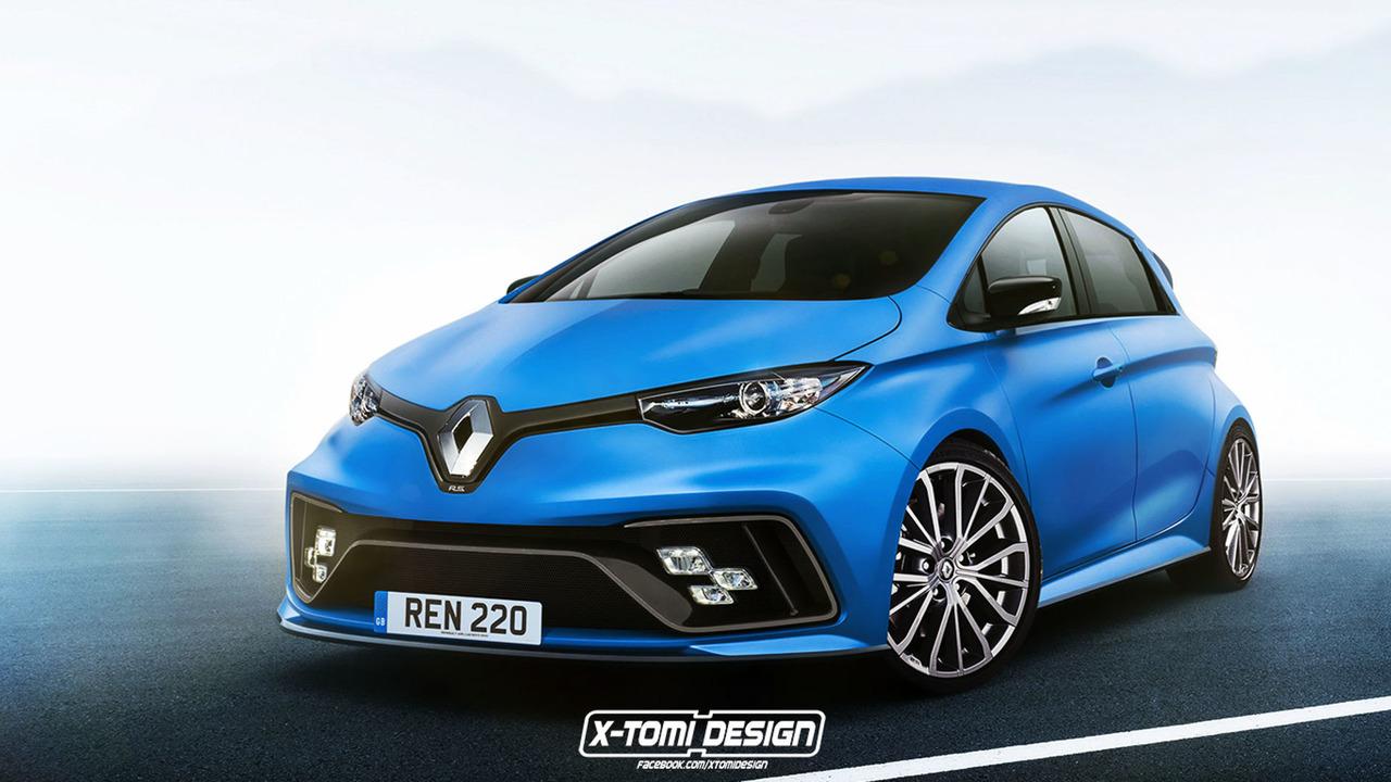 Renault Zoe RS Tasarım Yorumu